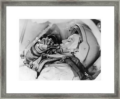 Valentina Tereshkova, Female Cosmonaut Framed Print by Ria Novosti