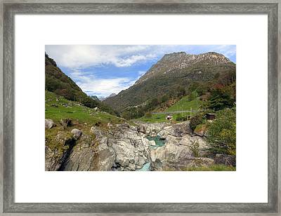 Valle Verzasca - Ticino Framed Print by Joana Kruse