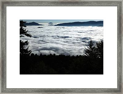 Framed Print featuring the photograph Valley Of The Clouds by Doug McPherson