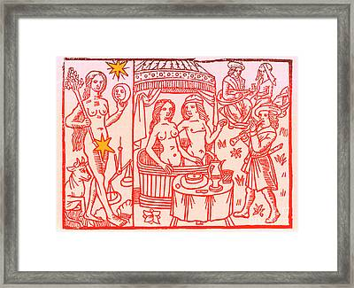 Venus, Roman Goddess Of Love Framed Print by Science Source