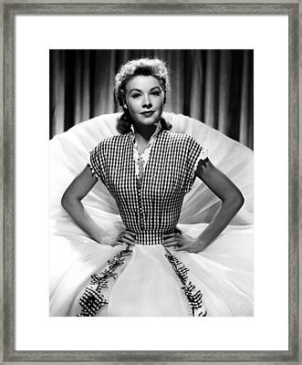 Vera-ellen, Ca. Early 1950s Framed Print by Everett