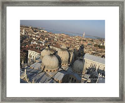 View Of Venice Framed Print