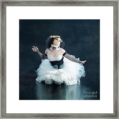 Vintage Dancer Series Framed Print by Cindy Singleton