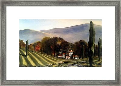 Vintage Year Framed Print by Don F  Bradford