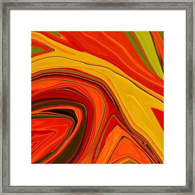 Warmth Framed Print by Bonnie Bruno