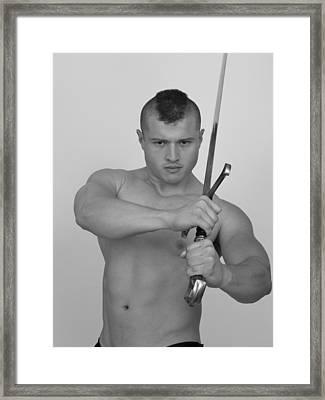 Warrior Framed Print by Jake Hartz