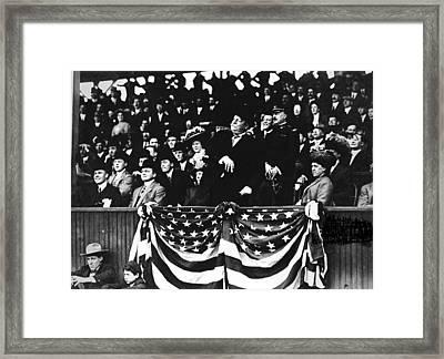 William Howard Taft Framed Print by Granger