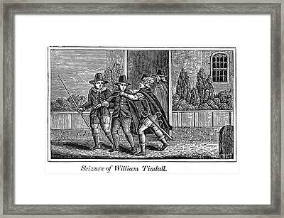 William Tyndale Framed Print