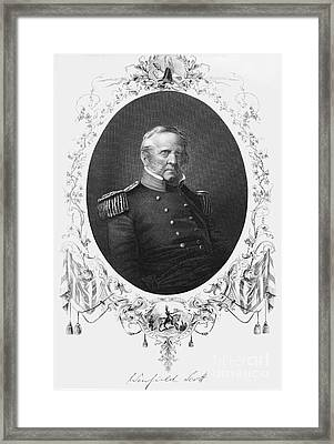 Winfield Scott (1786-1866) Framed Print by Granger