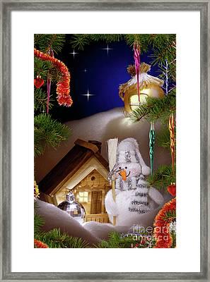 Wonderful Christmas Still Life Framed Print