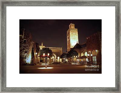 World Showcase - Morocco Pavillion Framed Print by AK Photography