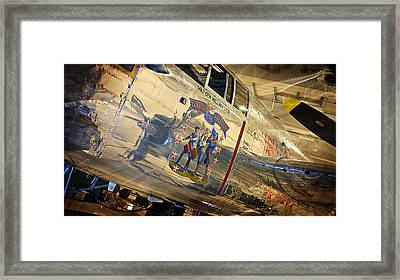 Ww II Fighter Plane Framed Print
