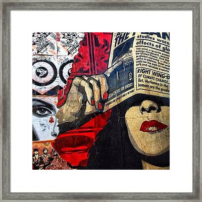 Wynwood - Miami Framed Print