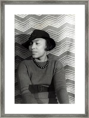 Zora Neale Hurston 1891-1960, African Framed Print