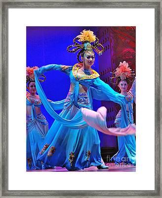 Asian Splendors Series Framed Print
