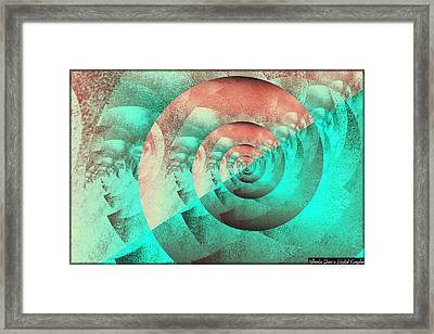 Figurative Shells Framed Print by Mihaela Stancu