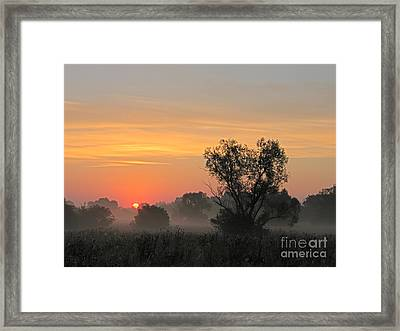 Sunset Framed Print by Odon Czintos