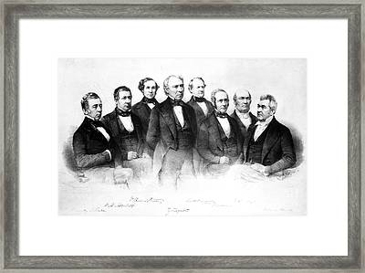 Zachary Taylor (1784-1850) Framed Print by Granger