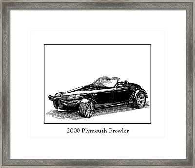 2000 Plymouth Prowler Framed Print by Jack Pumphrey