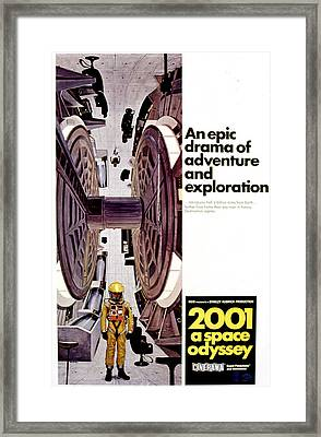 2001 A Space Odyssey, 1968 Framed Print by Everett