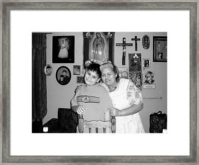 2003 - 01 Framed Print by D Salvador Hernandez