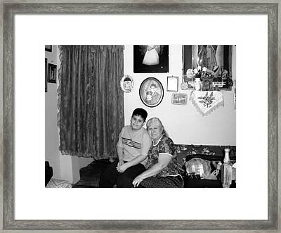 2003 - 02 Framed Print by D Salvador Hernandez
