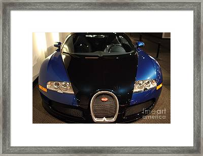 2006 Bugatti Veyron - 7d17276 Framed Print by Wingsdomain Art and Photography
