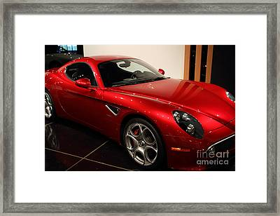 2008 Alfa Romeo 8c Competizione - 7d17230 Framed Print by Wingsdomain Art and Photography