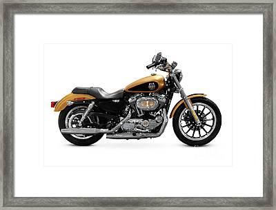 2008 Harley-davidson 105th Anniversary Sportster Custom Framed Print by Oleksiy Maksymenko