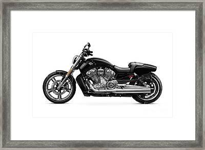 2010 Harley-davidson Vrsc V-rod Muscle Framed Print by Oleksiy Maksymenko