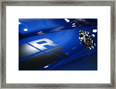 2012 Dodge Challenger Rt Framed Print
