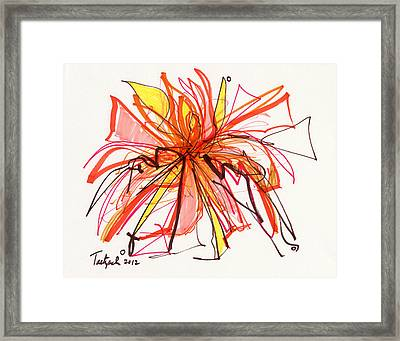 2012 Drawing #15 Framed Print
