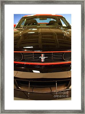 2012 Ford Mustang Boss 302 . 7d9656 Framed Print by Wingsdomain Art and Photography