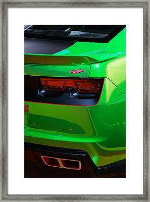 2012 Hot Wheels Chevrolet Camaro Concept Framed Print by Gordon Dean II