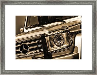 2012 Mercedes Benz G-class Framed Print