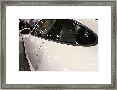 2012 Porsche 911 Carrera Gts . 7d9638 Framed Print by Wingsdomain Art and Photography