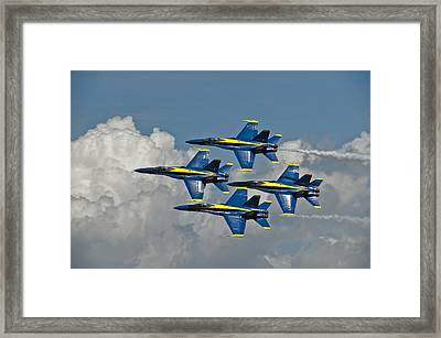 2012 U.s. Navy Blue Angels Framed Print