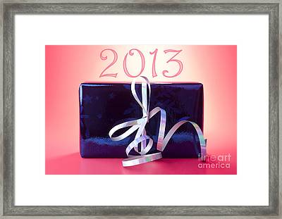 2013 New Year Framed Print by Blink Images