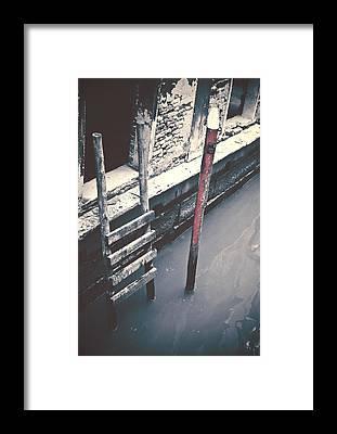 Step Stools Framed Prints