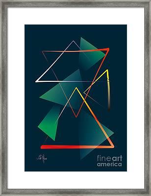 21012 Framed Print