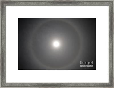 22 Halo Framed Print by Nicholas Caputo