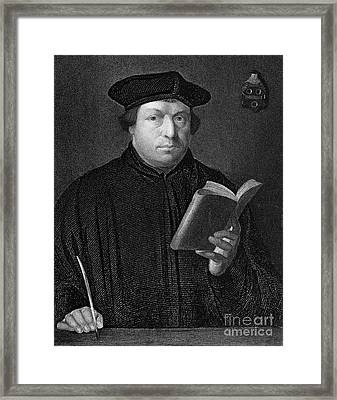 Martin Luther (1483-1546) Framed Print