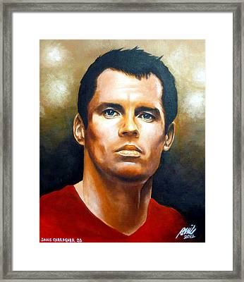23 Carra Gold Framed Print by Ramil Roscom Guerra
