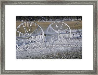 23 Degrees Framed Print by Fran Riley