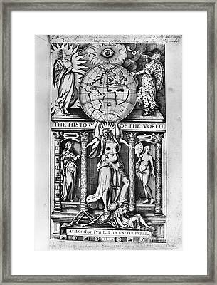 Sir Walter Raleigh Framed Print