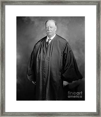 William Howard Taft Framed Print