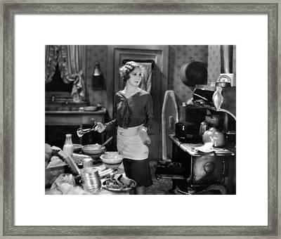 Silent Film Still Framed Print by Granger