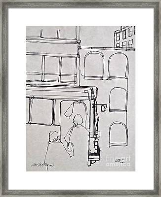 24th And 5th Framed Print