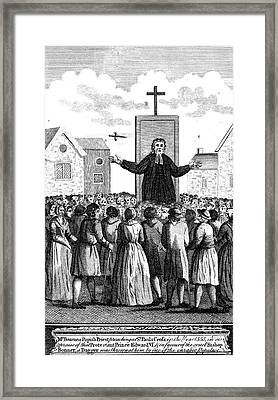 Foxe: Book Of Martyrs Framed Print