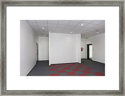 The Main Building Of The Toravere Framed Print by Jaak Nilson